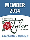 2014 Tyler Chamber of Commerce Member
